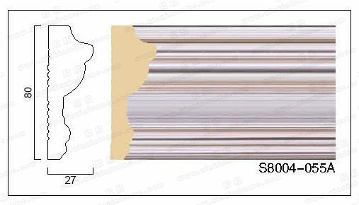 s8004 ps发泡欧式装饰线门套线窗套线背景墙线 两色入